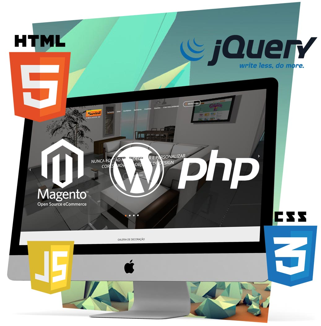 Customized web development and web programming.