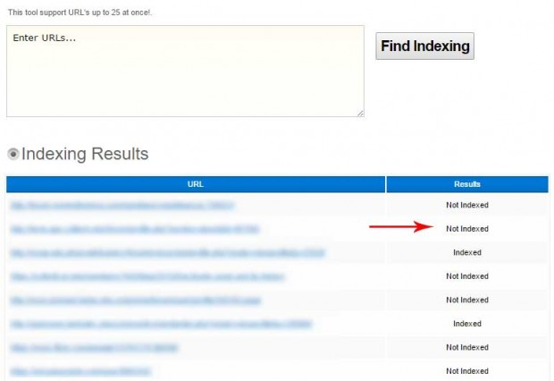 omprueba backlinks indexados con bulkdachecker