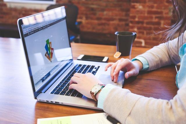 Portátil para diseño web
