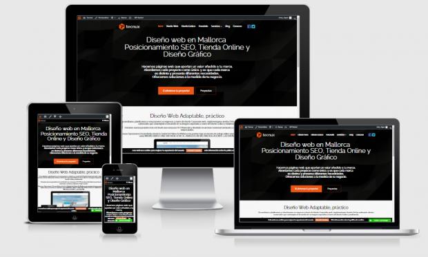 resposive web site
